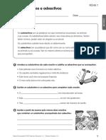 Fichas de Reforzo Lingua Galega 4 primaria