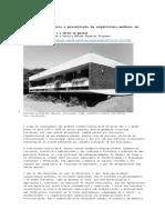 Dinâmica Imobiliária e Preservação Da Arquitetura Moderna Em Fortaleza
