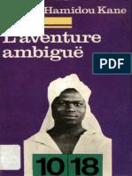 L'Aventure Ambiguë - Cheikh Hamidou Kane