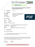 3.2 Informe de Corte Del Residente de Obra
