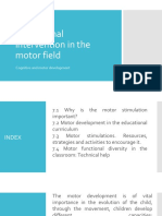 Educational Intervention in the Motor Field
