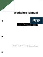 WM Porsche 928 Factory Manual - Vol 7