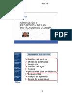 Corrosión y Protección de las Instalaciones de Agua - ATECYR