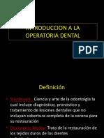 1.Introduction a La Operatoria Dental (1)