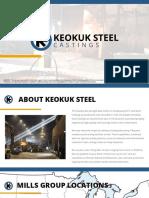 Keokuk Steel Castings Presentation - Generic