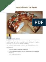 Elabora Tu Propio Roscón de Reyes Ecológico