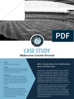 Case Study Melbourne Cricket Ground UK and Europe