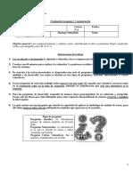 Evaluación Lenguaje 5°básico.