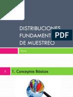 02. Distribuciones Fundamentales de Muestreo. I Parte