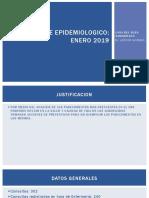 Reporte Epidemiologico Enero 2019