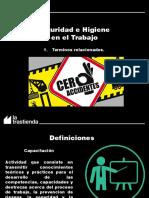 Presentacion Seguridad - Terminos