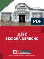 Cartilla Secigra Derecho 2019