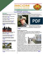 IMCOM World Newsletter, 22 October 2010