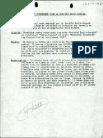 Projet d'emblème pour Radio-Canada en 1940