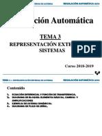 Tema 3 - Representación Externa de Sistemas
