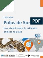 Lista de Polos de Soro Para Atendimento de Acidentes Ofídicos No Brasil