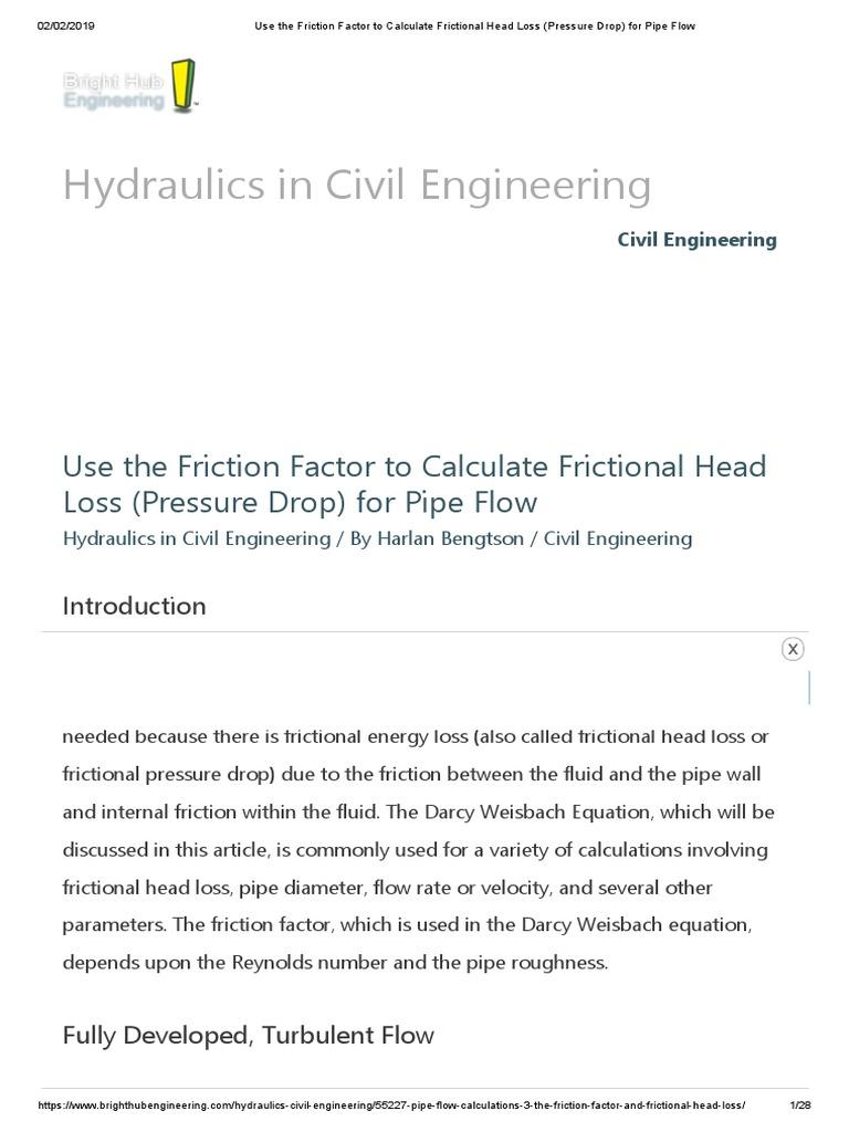 is 4985 2000 | Reynolds Number | Hydraulic Engineering