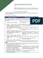 Instructions ITR 4 AY 2017-18