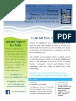 Dunbar Shore and Harbour Neighbourhood Group Report for AGM - Feb 2019-1