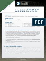 Club Assistance Asistencia Internacional en Viajes-2019