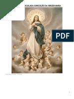 Ofício Da Imaculada Conceição Da Virgem Maria