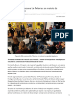 31-01-2019 - Capacita ISM a personal de Telemax en materia de equidad de género - Opinionsonora.com