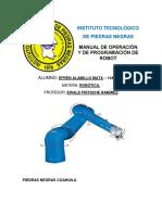 Manual de Usuario Brazo RobA Tico KUKA-2
