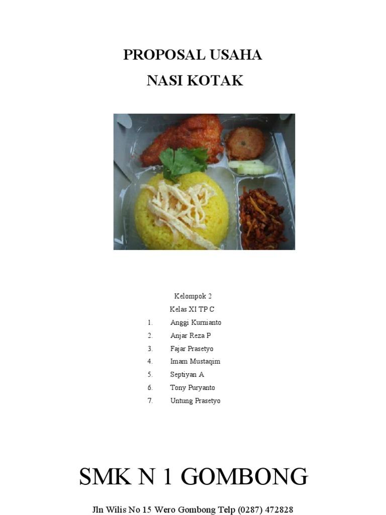 2 Proposal Usaha Nasi Kotak