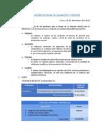 Sistema de Almacén y Pedidos.Cotización Perú