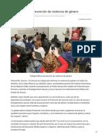 01-02-2019 - Trabaja ISM en prevención de violencia de género - Opinionsonora.com