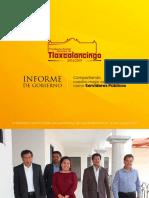 Informe de Ingresos y Egresos de la Presidencia Auxiliar Municipal de Tlaxcalancingo 2014 - 2019