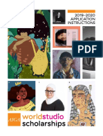 2019–2020 AIGA Worldstudio Scholarship