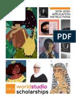 2019–2020 AIGA Worldstudio Scholarship