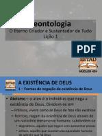 Teontologia - Lição 1
