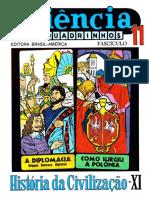 CIENCIA EM QUADRINHOS 11 -História da Civilização XI.pdf