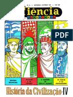 CIENCIA EM QUADRINHOS 14 - História da Civilização IV.pdf