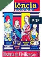 CIENCIA EM QUADRINHOS 27 - História da Civilização IX.pdf