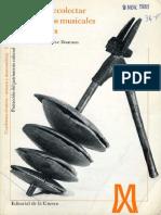 Guía Para Recolectar Instrumentos Musicales Tradicionales - Genevieve Dournon