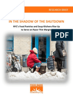 Shadow of the Shutdown - Food Bank Report 2 19
