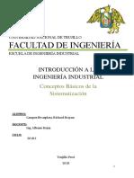 Definiciones y Conceptos de la Ingeniería Industrial