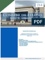 Consejo de Estado / Boletín Nº 214 – (Ene.2019)