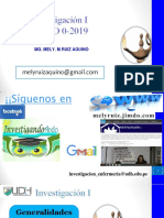 Sesion 1. Generalidades de La Investigacion