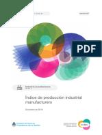 Industria Manufacturera 2018 - Indec
