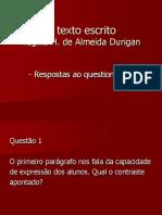 O texto escrito -1.ppt