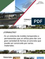 Presentacion power point formaletas clase estructuras
