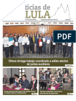 Noticias Cholula del 5 de febrero de 2019