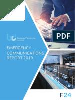 BCI Emergency Communications Report 2019