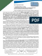 AWMUN2019 Position Paper ILO Greece