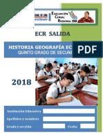 Hge Ecr 5to de Secundaria 2018