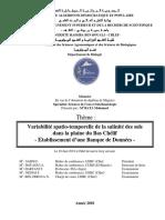 Mémoire Fin d'Etude Master 2 Génie Civil